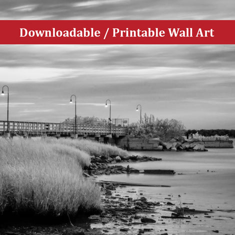 Historic New Castle 2 Landscape Photo DIY Wall Decor Instant Download Print - Printable