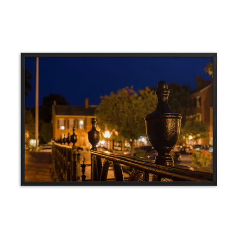 Historic New Castle 4 Urban Landscape Photo Framed Wall Art Print