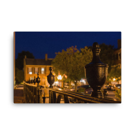 Historic New Castle 4 Urban Landscape Traditional Canvas Wall Art Print