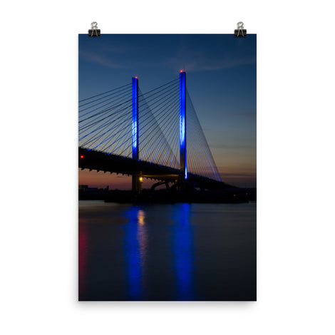 Indian River Bridge 2 Urban Landscape Loose Unframed Wall Art Prints