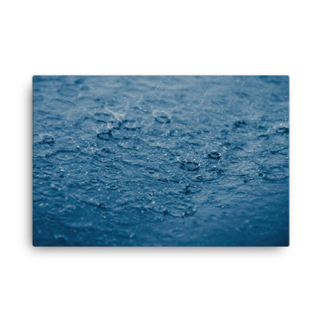 Let it Rain Nature Canvas Wall Art Prints