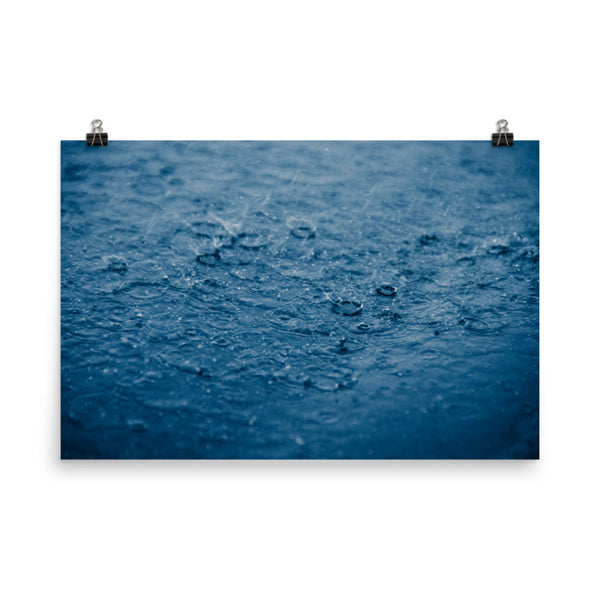 Let it Rain Nature Photo Loose Unframed Wall Art Prints  - PIPAFINEART