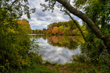 Lost In Autumn Color Landscape Photo Fine Art Canvas & Unframed Wall Art Prints - PIPAFINEART