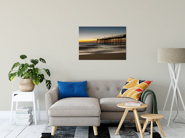 "Motion of the Ocean Coastal Landscape Photo Fine Art Canvas Wall Art Prints 24"" x 36"" - PIPAFINEART"