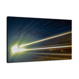 Night Train Abstract Photo Fine Art Canvas & Unframed Wall Art Prints  - PIPAFINEART