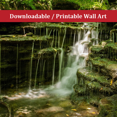 Pixley Falls 1 Landscape Photo DIY Wall Decor Instant Download Print - Printable