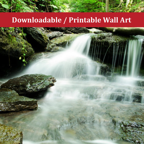 Pixley Falls 2 Landscape Photo DIY Wall Decor Instant Download Print - Printable
