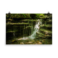 Pixley Falls 1 Waterfalls Landscape Photo Loose Wall Art Prints  - PIPAFINEART