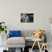 "Radial Sun Rays Abstract Photo Fine Art Canvas & Unframed Wall Art Prints 20"" x 24"" / Fine Art Canvas - PIPAFINEART"