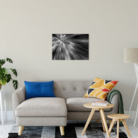 "Radial Sun Rays Abstract Photo Fine Art Canvas & Unframed Wall Art Prints 20"" x 30"" / Fine Art Canvas - PIPAFINEART"