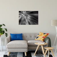 "Radial Sun Rays Abstract Photo Fine Art Canvas & Unframed Wall Art Prints 24"" x 36"" / Fine Art Canvas - PIPAFINEART"