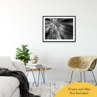"Radial Sun Rays Abstract Photo Fine Art Canvas & Unframed Wall Art Prints 24"" x 36"" / Classic Paper - Unframed - PIPAFINEART"