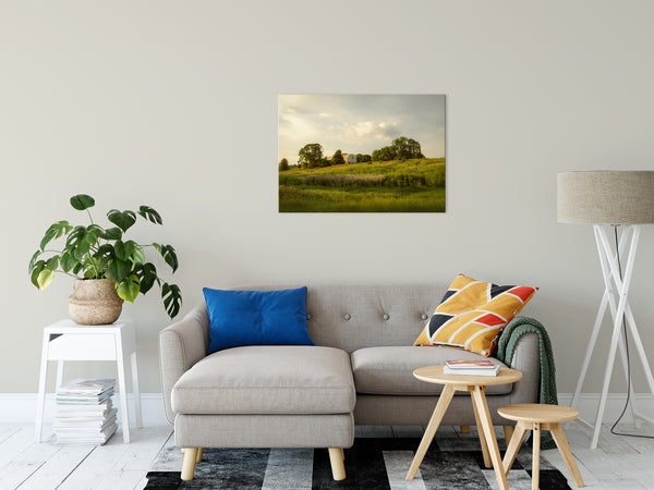 Nature Landscape Photo Remnant of Better Days, Fine Art Canvas Prints- Home Decor Unframed Wall Art Prints