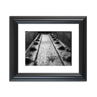 Rivets in Steel Girder in Black and White Abstract Photo Fine Art Canvas & Unframed Wall Art Prints - PIPAFINEART