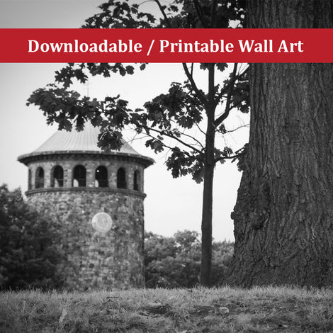 Rockford Tower 2 Landscape Photo DIY Wall Decor Instant Download Print - Printable
