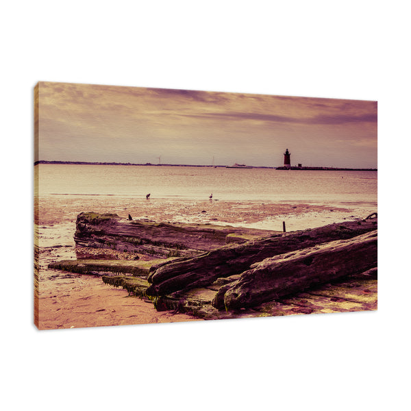 Shipwreck Cape Henlopen - Breakwater Harbor Unframed Wall Art Prints & Fine Art Canvas Prints - PIPAFINEART