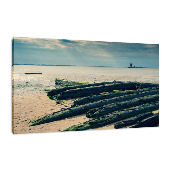 Shipwreck Cape Henlopen 2 - Breakwater Harbor Wall Art & Canvas Prints - PIPAFINEART