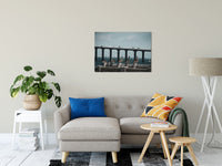 Skyway Bridge & Bob's Pelican Friends Wildlife Photo Fine Art Canvas & Unframed Wall Art Prints - PIPAFINEART