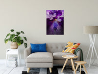 "Stigma of Iris Nature / Floral Photo Fine Art Canvas Wall Art Prints 24"" x 36"" / Fine Art Canvas - PIPAFINEART"