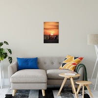 "Summer Spectators Coastal Sunset Landscape Fine Art Canvas Prints 16"" x 20"" / Canvas Fine Art - PIPAFINEART"