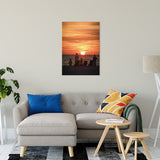 "Summer Spectators Coastal Sunset Landscape Fine Art Canvas Prints 24"" x 36"" / Canvas Fine Art - PIPAFINEART"