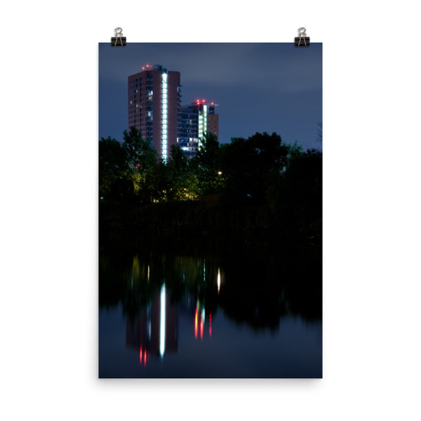 The Riverfront 4 Urban Landscape Loose Unframed Wall Art Prints  - PIPAFINEART
