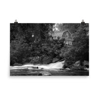 The Brandywine River and First Presbyterian Church Loose Wall Art Prints  - PIPAFINEART