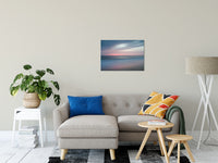 The Colors of Evening Abstract Coastal Landscape Fine Art Canvas & Unframed Wall Art Prints - PIPAFINEART