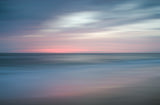 The Colors of Evening Abstract Coastal Landscape Fine Art Canvas Wall Art Prints  - PIPAFINEART