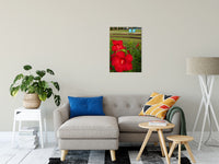 Floral Nature Photograph The Riverfront 2 - Fine Art Canvas - Home Decor Unframed Wall Art Prints