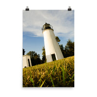 Turkey Point Lighthouse Landscape Photo Loose Wall Art Print  - PIPAFINEART