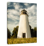 Turkey Point Lighthouse Standing Tall Landscape Fine Art Canvas Wall Art Prints  - PIPAFINEART