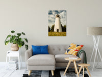 "Turkey Point Lighthouse Standing Tall Landscape Fine Art Canvas Wall Art Prints 24"" x 36"" / Canvas Fine Art - PIPAFINEART"