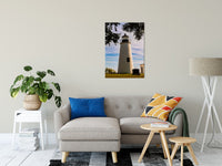 "Turkey Point Lighthouse in the Trees Landscape Fine Art Canvas Wall Art Prints 24"" x 36"" / Canvas Fine Art - PIPAFINEART"