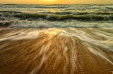 Washing Out to Sea Nature / Coastal Photo Fine Art & Unframed Wall Art Prints - PIPAFINEART