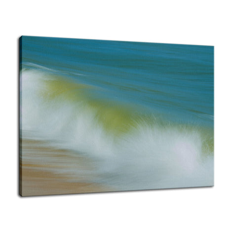 Waves Abstract Coastal Nature Photo Fine Art Canvas Wall Art Prints