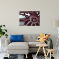 "Wheel of Time Abstract Photo Fine Art Canvas & Unframed Wall Art Prints 24"" x 36"" / Fine Art Canvas - PIPAFINEART"