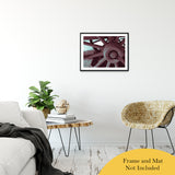 "Wheel of Time Abstract Photo Fine Art Canvas & Unframed Wall Art Prints 20"" x 30"" / Classic Paper - Unframed - PIPAFINEART"