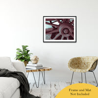 "Wheel of Time Abstract Photo Fine Art Canvas & Unframed Wall Art Prints 24"" x 36"" / Classic Paper - Unframed - PIPAFINEART"