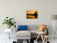 "Wilmington at Sunrise Urban Landscape Fine Art Canvas Wall Art Prints 20"" x 30"" - PIPAFINEART"