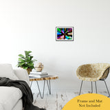 "Zoomed CDs Abstract Photo Fine Art Canvas & Unframed Wall Art Prints 11"" x 14"" / Classic Paper - Unframed - PIPAFINEART"