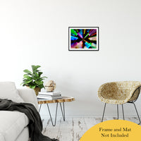 "Zoomed CDs Abstract Photo Fine Art Canvas & Unframed Wall Art Prints 16"" x 20"" / Classic Paper - Unframed - PIPAFINEART"