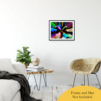 "Zoomed CDs Abstract Photo Fine Art Canvas & Unframed Wall Art Prints 20"" x 24"" / Classic Paper - Unframed - PIPAFINEART"