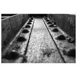 Abstract Photography Rivets in Steel Girder in Black and White - Fine Art Canvas - Home Decor Wall Art Prints Unframed