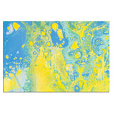 Acrylic Dirty Paint 36 Abstract Art, Fluid Art Fine Art Canvas &  Unframed Wall Art Prints  - PIPAFINEART