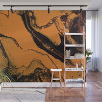 Removable Wall Mural - Wallpaper  Abstract Artwork - Fluid Art Pour 7 - PIPAFINEART