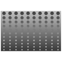 Gray Gradient Dots Illustration - Adhesive Wallpaper - Removable Wallpaper - Wall Sticker - Full Size Wall Mural  - PIPAFINEART