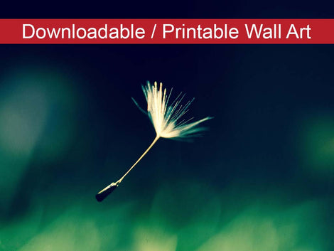 Blowing in the Wind Botanical Nature Photo DIY Wall Decor Instant Download Print - Printable