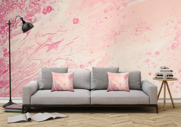 Removable Wall Mural - Wallpaper Abstract Artwork - Fluid Art Pour 2 - PIPAFINEART