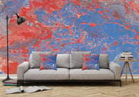 Mixed Art Texture - Fluid Art - Acrylic Dirty Paint Pour 13 - Adhesive Wallpaper - Removable Wallpaper - Wall Sticker - Full Size Wall Mural